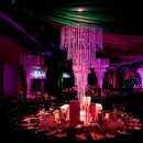 CRYSTAL CHANDELIER  TABLE CENTRES - GILGAMESH