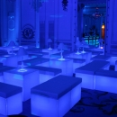 LED LIT CHILL OUT SEATING